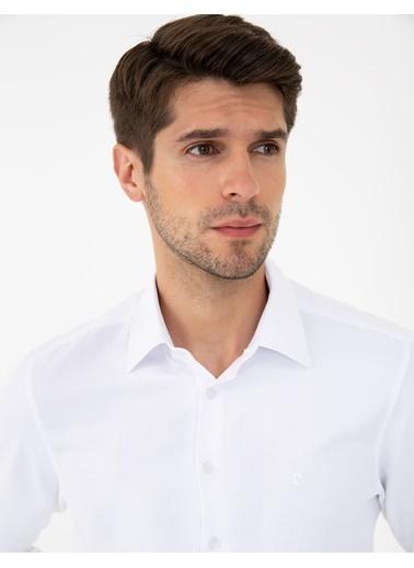 Pierre Cardin G021Gl004.000.1294466.Vr013 Gömlek Uzunk Beyaz